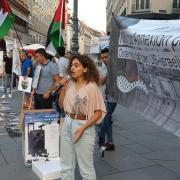 Sarah Hassan, Schülerin