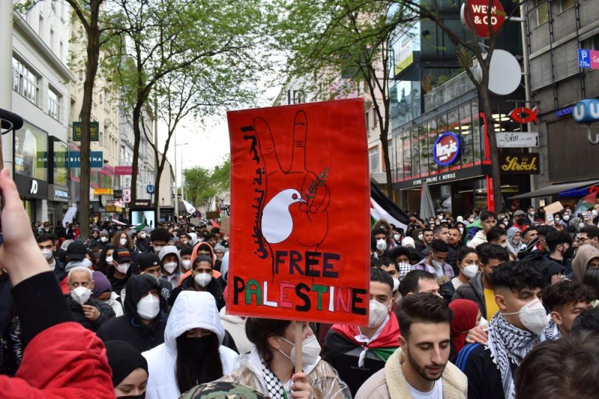 Mobilisierung für einen gerechten Frieden