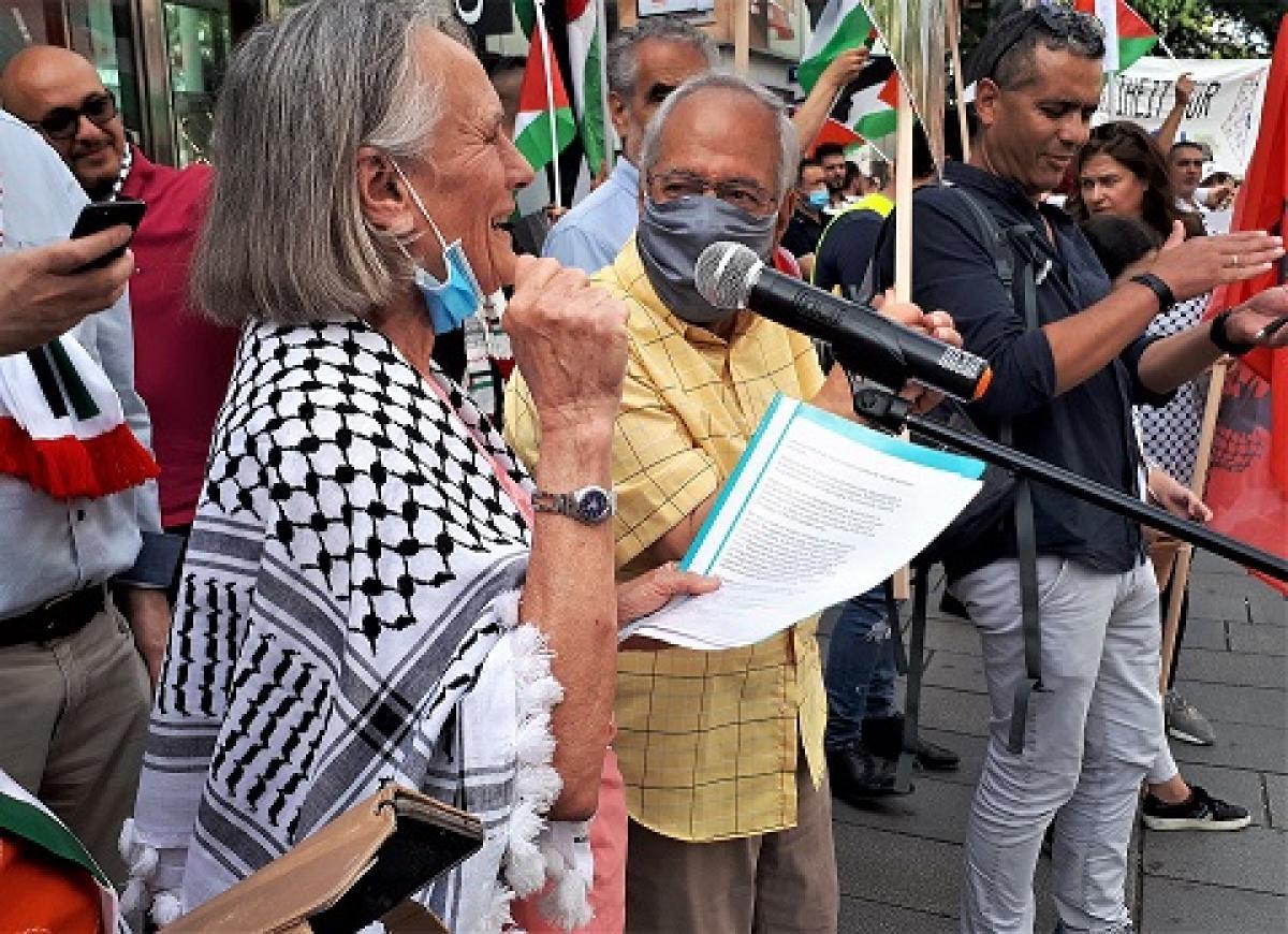 Nein zu den völkerrechtswidrigen Annexionen palästinensischen Lands!