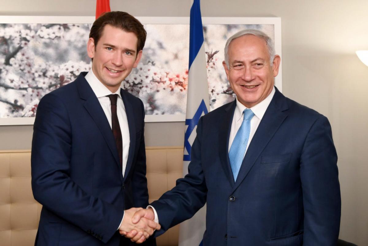 Kurz und Netanjahu